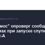 «Роскосмос» опроверг сообщения о проблемах при запуске спутника Egyptsat-A